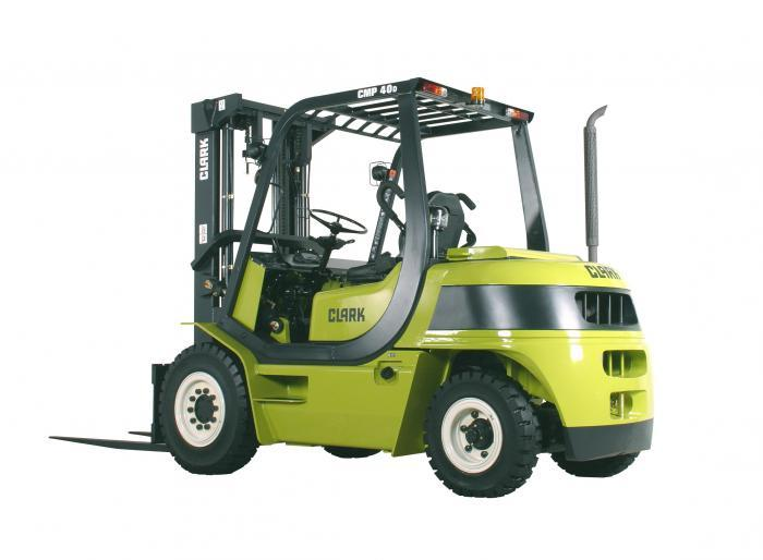 Clark c30 Forklift manual
