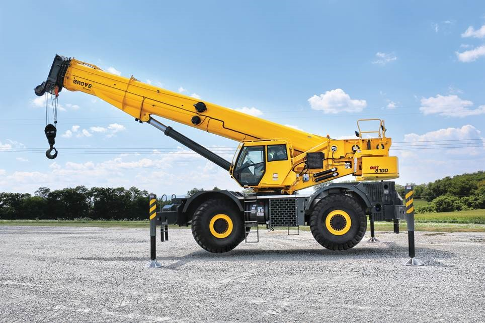 Grove Rough Terrain Cranes Specifications Manuals
